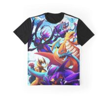 Dragon Pokemon Graphic T-Shirt