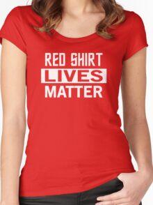 STAR TREK - RED SHIRT LIVES MATTER Women's Fitted Scoop T-Shirt