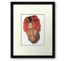 Lil Yatchy Face  Framed Print