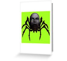 Zombie Spider Greeting Card