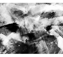 Abstract Charcoal Photographic Print