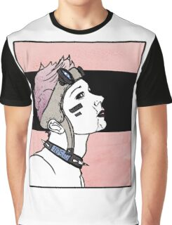 Pink. Punk. Likes it rough. Graphic T-Shirt