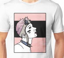 Pink. Punk. Likes it rough. Unisex T-Shirt