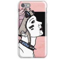 Pink. Punk. Likes it rough. iPhone Case/Skin