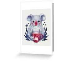 I♥Australia Greeting Card