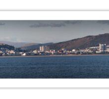 Swansea coastline south wales Sticker
