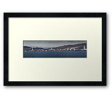 Swansea coastline south wales Framed Print