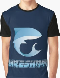Wireshark Logo Graphic T-Shirt