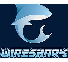 Wireshark Logo Photographic Print