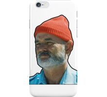 Bill Murray as Steve Sizzou  iPhone Case/Skin