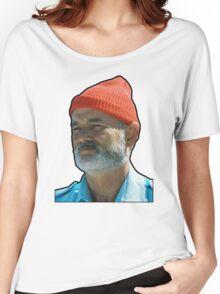 Bill Murray as Steve Sizzou  Women's Relaxed Fit T-Shirt