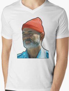 Bill Murray as Steve Sizzou  Mens V-Neck T-Shirt