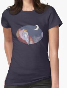 Bedtime Story Womens Fitted T-Shirt