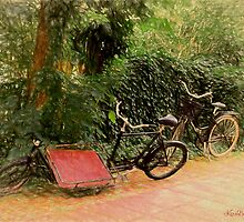 Bicycles by © Kira Bodensted
