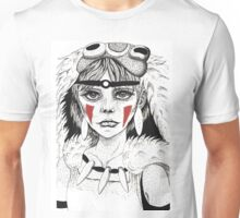 Pen ink Mononoke Unisex T-Shirt