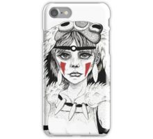 Pen ink Mononoke iPhone Case/Skin