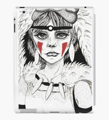 Pen ink Mononoke iPad Case/Skin