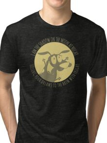the Nightmare Before Courage Tri-blend T-Shirt