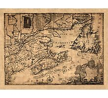 Map Of Nova Scotia 1776 Photographic Print