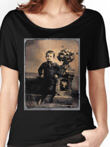Tintypes: Cemetery Boy Women's Relaxed Fit T-Shirt