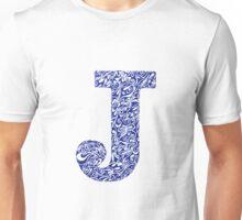 Margin J Letter Unisex T-Shirt