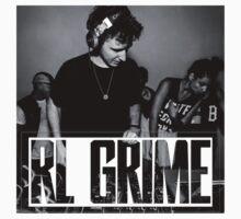 RL GRIME B/W by kalakta