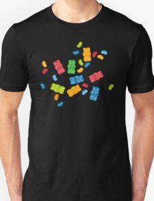 Jelly Beans & Gummy Bears Pattern Unisex T-Shirt