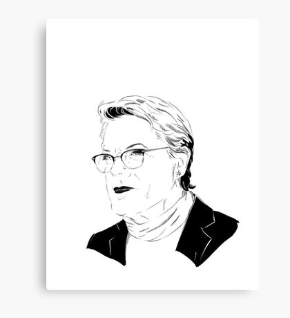 Eddie Izzard, Superhero Canvas Print