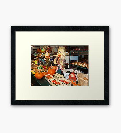 Potpourrie of Produce Framed Print