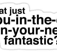 Friends- Rachel quote funny Sticker