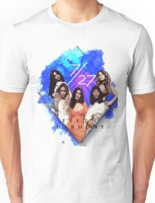 Fifth Harmony 7/27 Blue Unisex T-Shirt