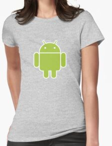 Android logo Womens Fitted T-Shirt