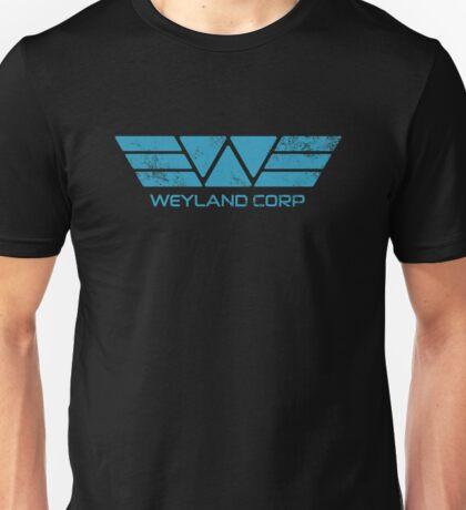 Weyland Corp - Distressed Blue Unisex T-Shirt