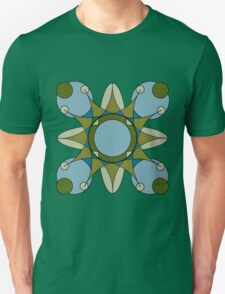 Retro Star Petal Unisex T-Shirt