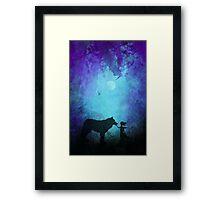 Wolf Whipserer Framed Print