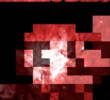 Mario Minimalist Nebula Design Sticker