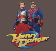 Henry Danger and Captain Man Baby Tee