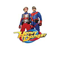 Henry Danger and Captain Man Photographic Print