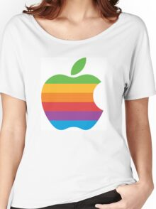 Apple old logo Women's Relaxed Fit T-Shirt