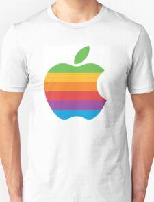 Apple old logo Unisex T-Shirt