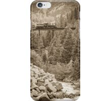 Georgetown Loop - Clear Creek Trestle iPhone Case/Skin