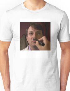 PEEP SHOW DAVID MITCHELL CHAIRMAN MARK HITLER Unisex T-Shirt