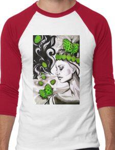 Smell of Fresh Hops Men's Baseball ¾ T-Shirt