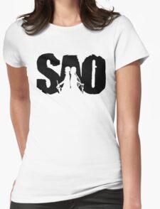 Sword art Womens Fitted T-Shirt