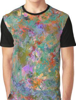 Color Debris Graphic T-Shirt