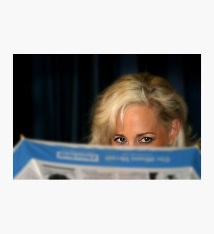 Blond Girl Photographic Print