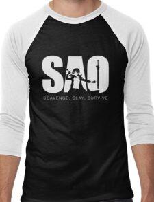 SAO Men's Baseball ¾ T-Shirt