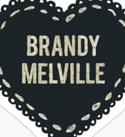 brandy melville 2 Sticker