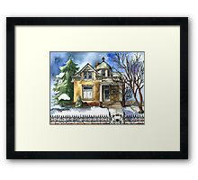 The Brown Bungalow Framed Print