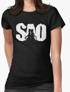 SAO Womens Fitted T-Shirt